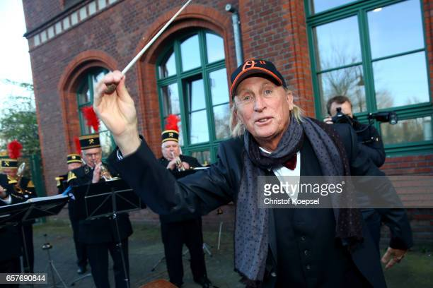 Otto Waalkes poses during the Steiger Award on at Coal Mine Hansemann Alte Kaue March 25 2017 in Dortmund Germany