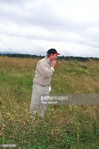 Otto Waalkes Radio Regenbogen Golf CupWohltätigkeitsTurnier für Children ForTomorrow Golfplatz ScheibenhardtKarlsruhe Baseballmütze