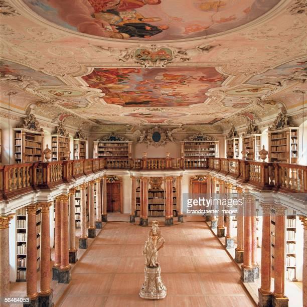 Ottobeuren south of Memmingen Bavaria Benedictine monastery Monastery library Photography [Ottobeuren suedlich von Memmingen Bayern...