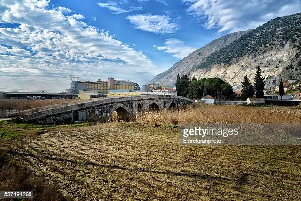 ottoman bridge near sazli village - emreturanphoto bildbanksfoton och bilder