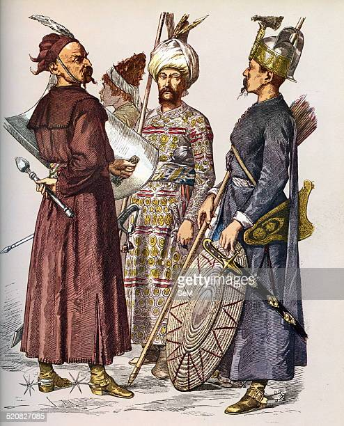 Ottoman EmpireTurkish Soldiers of the seventeenth and eighteenth centuries