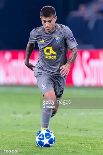 Otávio Edmilson Da Silva Monteiro of FC Porto DFL REGULATIONS PROHIBIT ANY USE OF PHOTOGRAPHS AS IMAGE SEQUENCES AND/OR QUASIVIDEO during the UEFA...