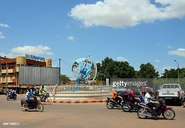 ワガドゥグー、ブルキナファソ:国連広場 - ワガドゥグ ストックフォトと画像