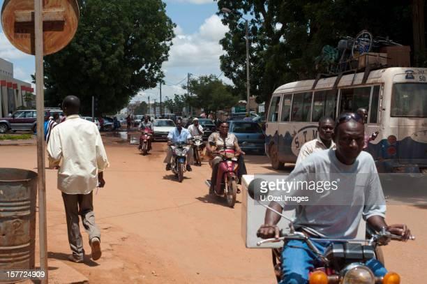 ouagadougou city center - ouagadougou stock pictures, royalty-free photos & images