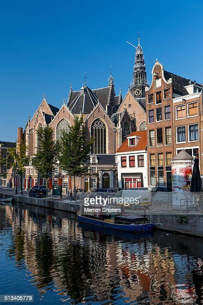Oude Kerk along Oudezijds Voorburgwal