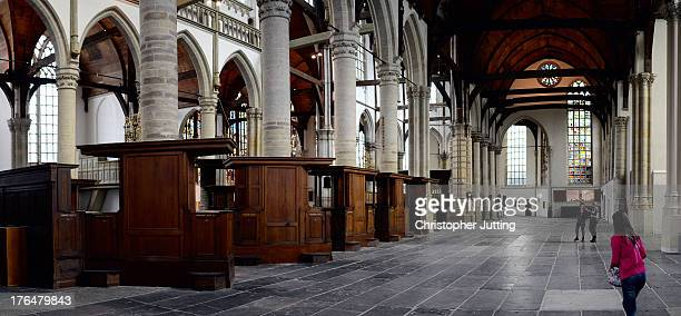 CONTENT] Oude Kerk is the oldest building and church in Amsterdam having been founded in 1213 and consecrated in 1306 The church was frequented by...