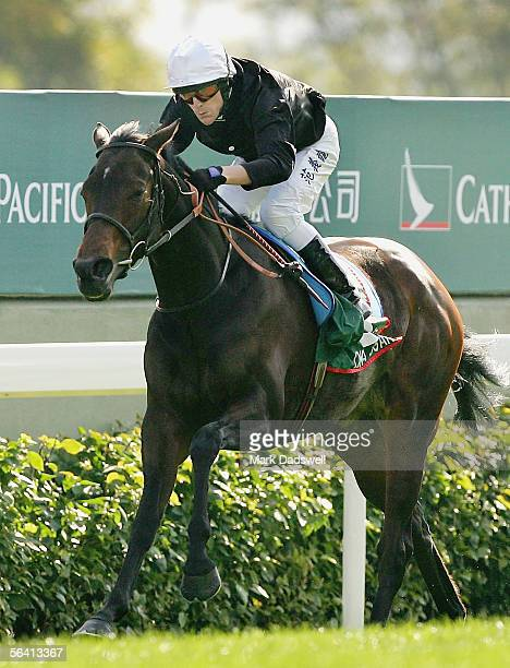 Ouija Board ridden by Kieren Fallon wins the Cathay Pacific Hong Kong Vase during the Cathay Pacific International Races at Shatin Racecourse...