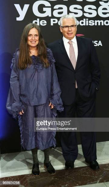 Ouka Lele and Baltasar Garzon attend 'Ortega y Gasset' Awards Ceremony at Circulo de Bellas Artes on May 7 2018 in Madrid Spain