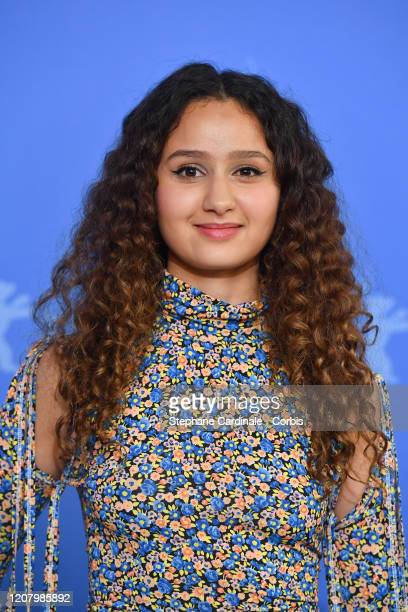 Oulaya Amamra attends the The Salt Of Tears photo call during the 70th Berlinale International Film Festival Berlin at Grand Hyatt Hotel on February...