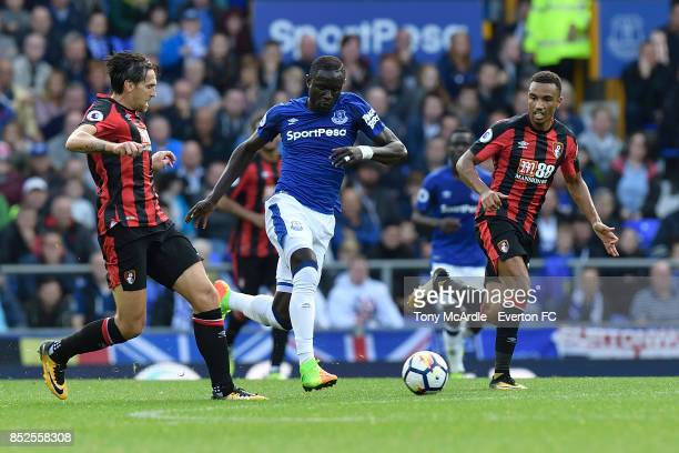 Oumar Niasse of Everton during the Premier League match between Everton and AFC Bournemouth at Goodison Park on September 23 2017 in Liverpool England