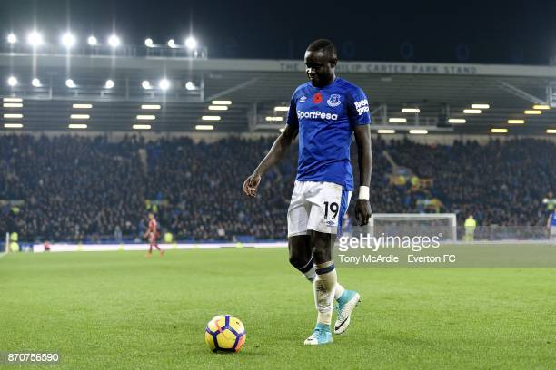 Oumar Niasse of Everton during the Premier League match between Everton and Watford at Goodison Park on November 5 2017 in Liverpool England