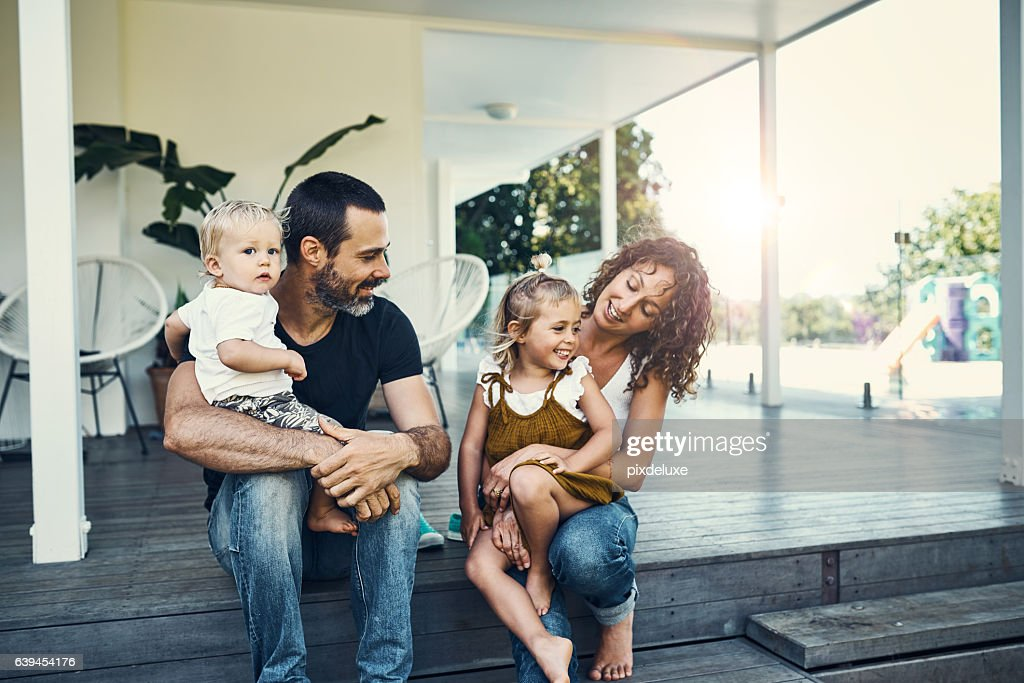 Our children are our most precious possessions : Stock Photo