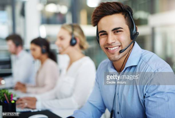 our contact centre consultants are 100% customer focused - call center stock pictures, royalty-free photos & images