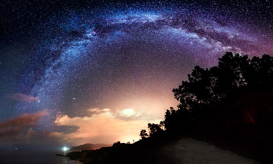 Our Galaxy - The Milky Way - gettyimageskorea