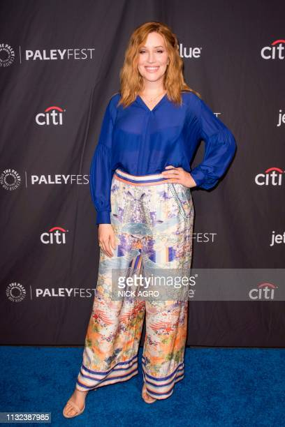 Our Lady J arrives for Paley Center for Media's 2019 PaleyFest LA panel and screening of 'Pose' on March 23 2019 at the Dolby Theater in Hollywood