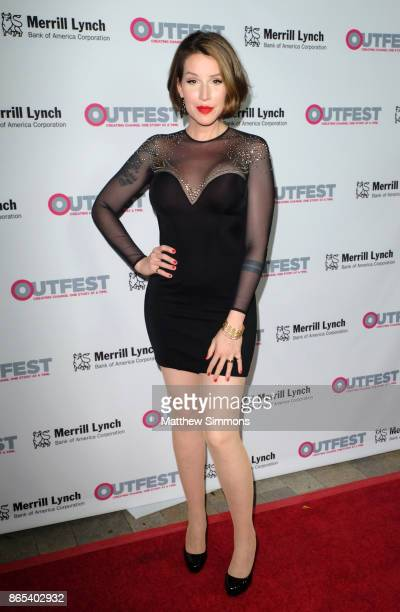 Our Lady J at the 13th Annual Outfest Legacy Awards at Vibiana on October 22 2017 in Los Angeles California