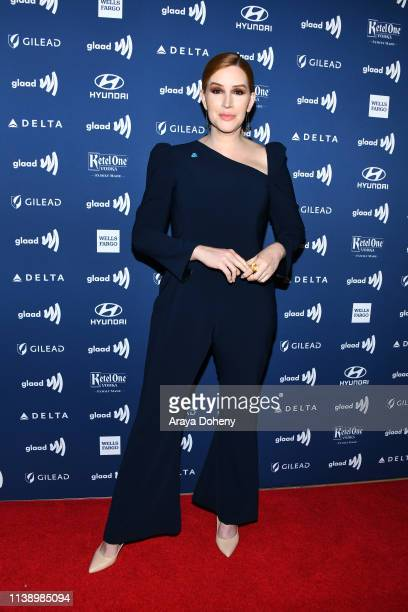 Our Lady J at the 30th Annual GLAAD Media Awards at The Beverly Hilton Hotel on March 28 2019 in Beverly Hills California