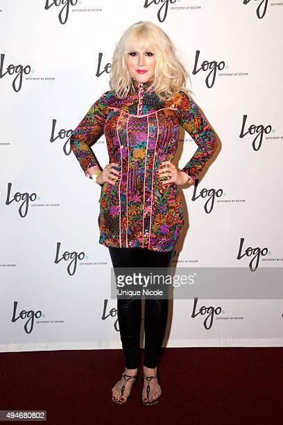 Our Lady J attends Logo TV's 'Beautiful As I Want To Be' web series launch party at The Standard Hotel on October 27 2015 in Los Angeles California