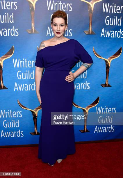 Our Lady J attends the 2019 Writers Guild Awards LA Ceremony at The Beverly Hilton Hotel on February 17 2019 in Beverly Hills California