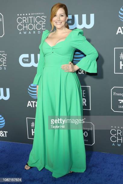 Our Lady J attends The 24th Annual Critics' Choice Awards at Barker Hangar on January 13 2019 in Santa Monica California