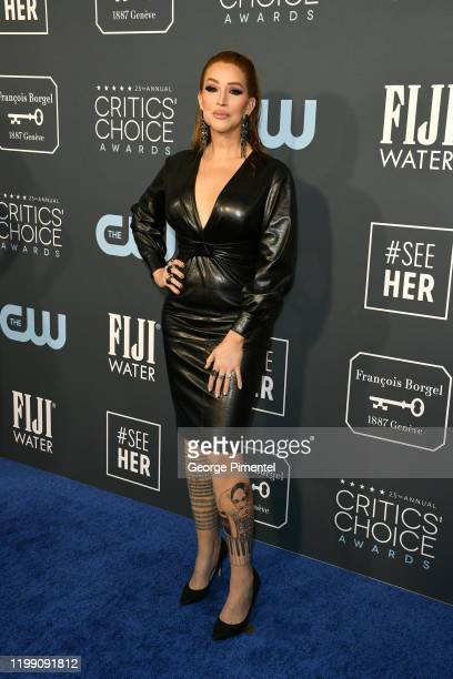 Our Lady J attends the 25th Annual Critics' Choice Awards held at Barker Hangar on January 12 2020 in Santa Monica California