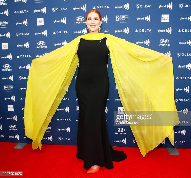 Our Lady J attends the 30th Annual GLAAD Media Awards in partnership with Ketel One FamilyMade Vodka longstanding ally of the LGBTQ community on May...