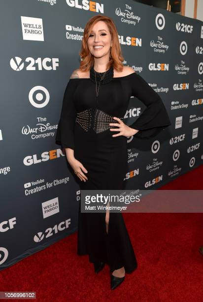 Our Lady J attends the GLSEN Respect Awards at the Beverly Wilshire Four Seasons Hotel on October 19 2018 in Beverly Hills California