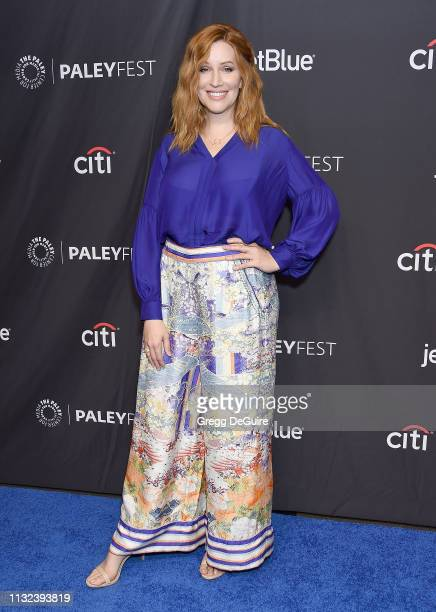 Our Lady J attends The Paley Center For Media's 2019 PaleyFest LA Pose at Dolby Theatre on March 23 2019 in Hollywood California