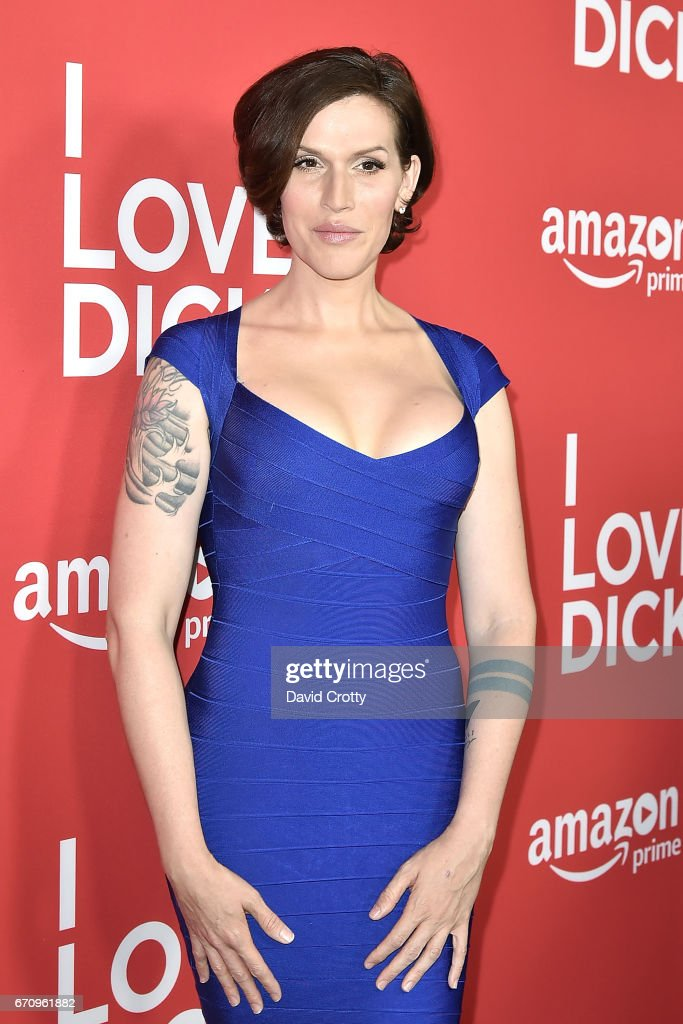 Our Lady J attends the Premiere Of Amazon's 'I Love Dick' - Arrivals on April 20, 2017 in Los Angeles, California.