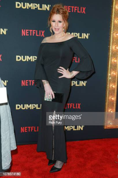 Our Lady J attends the premiere of Netflix's 'Dumplin'' at TCL Chinese 6 Theatres on December 06 2018 in Hollywood California