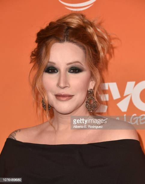 Our Lady J attends The Trevor Project's TrevorLIVE Gala at The Beverly Hilton Hotel on December 02 2018 in Beverly Hills California