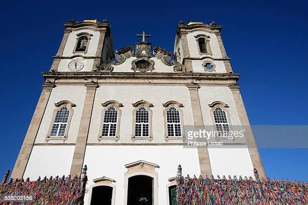 our lady of bonfim church - salvador bahia imagens e fotografias de stock