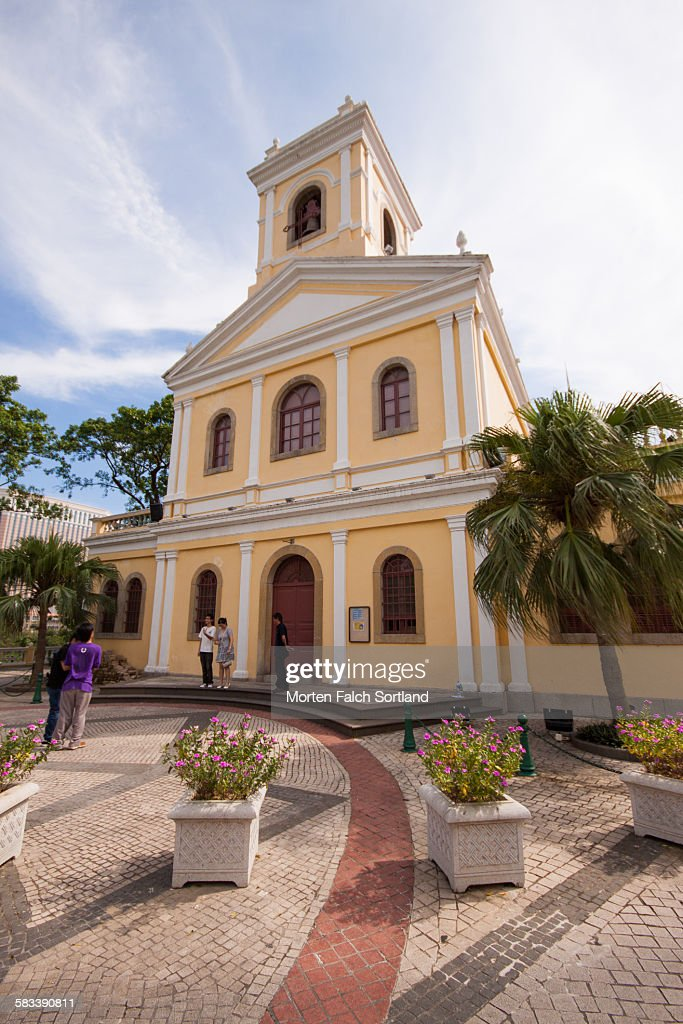 Our Lady of Carmel Church : Stock Photo