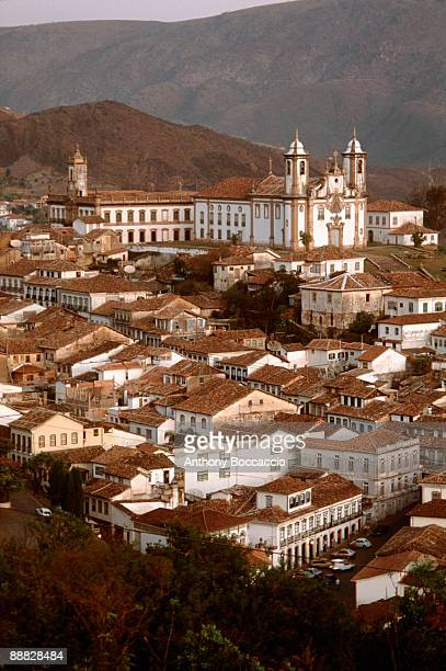 our lady of carmo church , ouro preto , brazil - preto stock pictures, royalty-free photos & images