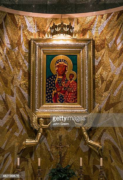 Our Lady of Czestochowa chapel shrine Basilica of the National Shrine of the Immaculate Conception
