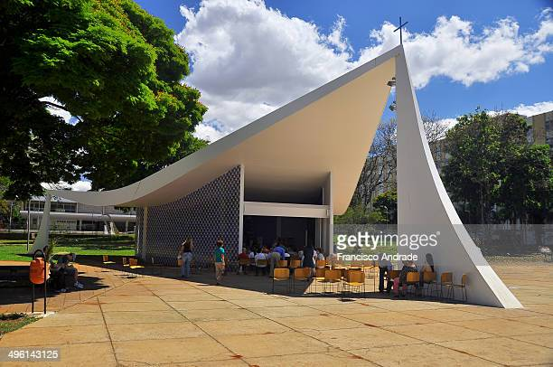 CONTENT] Our Lady of Fatima Church designed by Oscar Niemeyer Brasilia Brazil