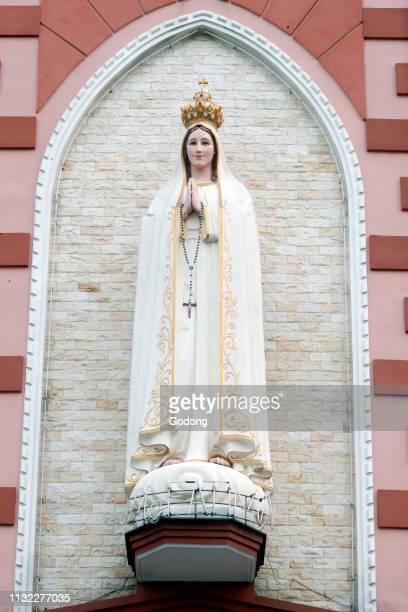 Our Lady of Fatima church Fatima Statue Ho Chi Minh City Vietnam