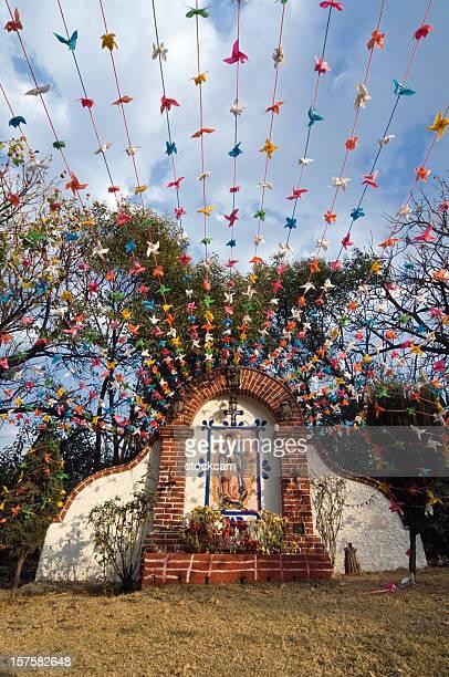 santuario de nuestra señora de guadalupe en la ciudad de méxico - festival de la virgen de guadalupe fotografías e imágenes de stock