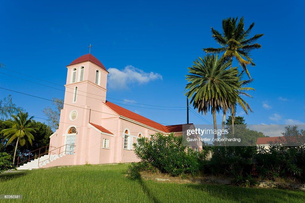 Our Lady of Perpetual Help Catholic Church, Antigua, Leeward Islands, West Indies, Caribbean, Central America : Stock Photo