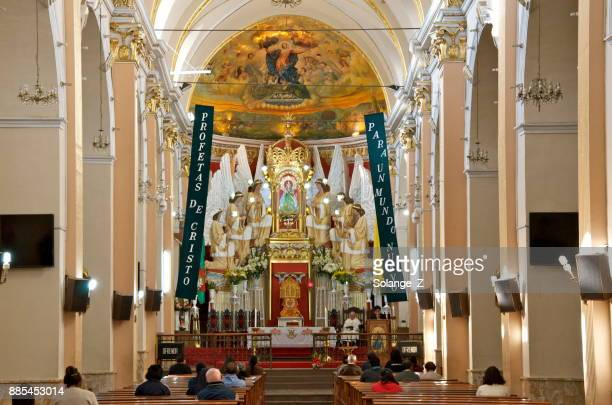 our lady of urkupiña church in bolivia - cochabamba stock pictures, royalty-free photos & images
