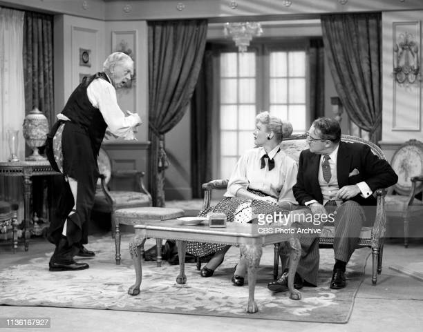 Our Miss Brooks a CBS television situation comedy Episode 'Mr Whipple' originally broadcast November 12 1952 Los Angeles CA Left to right Thurston...