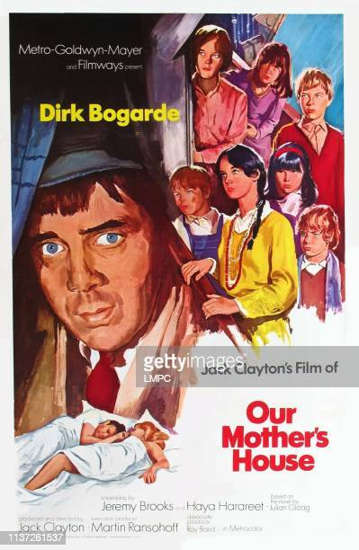 Our Mother's House poster poster art left Dirk Bogarde right clockwise Claire Davidson Margaret Brooks Gustav Henry Phoebe Nicholls Mark Lester...