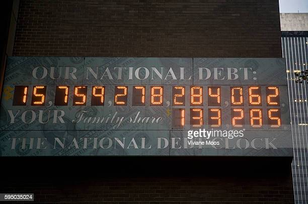 Our National Debt dollar amount Your family share dollar amount the National Debt Clock keeping count on the continual mounting dollars posted on a...