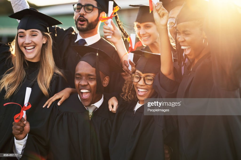 Our parents are so proud of us : Stock Photo