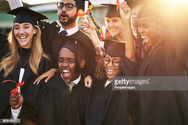 our parents are so proud of us - graduation stock pictures, royalty-free photos & images