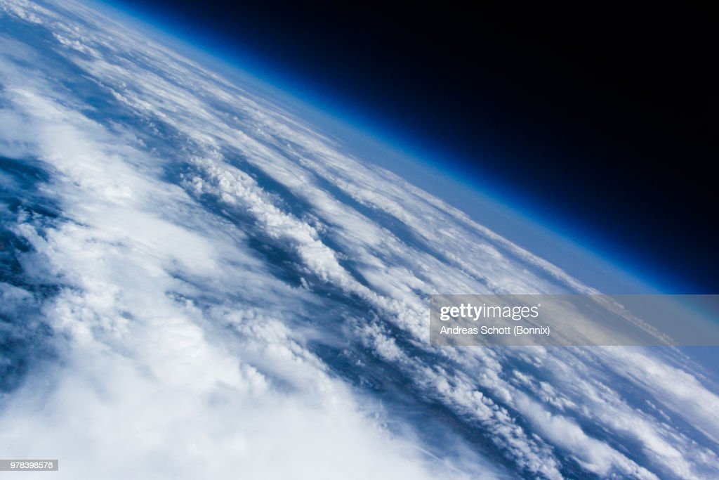 Our planet earth from near space : ストックフォト