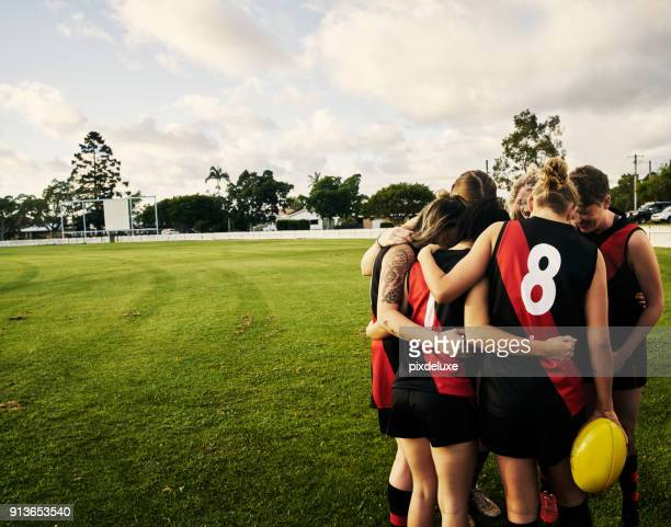 our secret is that we never give up - afl stock pictures, royalty-free photos & images