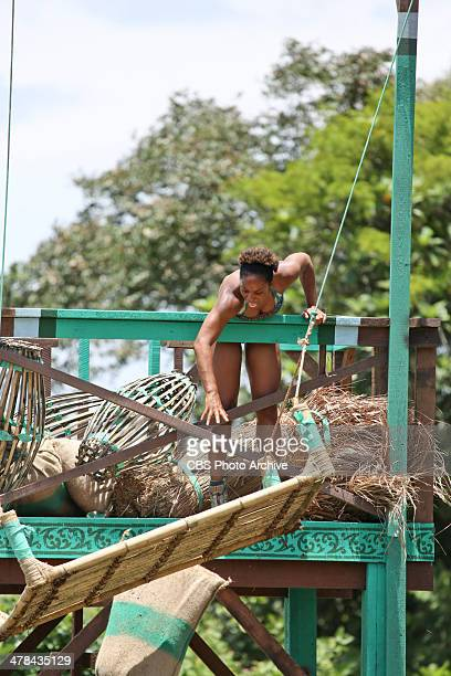 'Our Time to Shine' Latasha 'Tasha' Fox of the Brains Tribe during the third episode of SURVIVOR CAGAYAN Wednesday March 12 on the CBS Television...