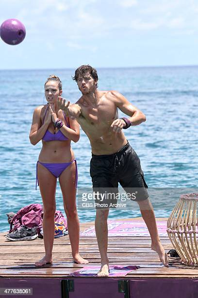 Our Time to Shine Morgan McLeod and Jeremiah Wood of the Beauty Tribe compete for Immunity during the third episode of SURVIVOR CAGAYAN Wednesday...