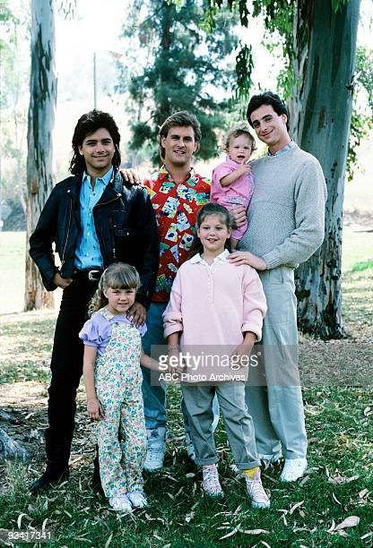 HOUSE 'Our Very First Show' Pilot Season One Gallery 9/22/87 Bob Saget played widower Danny Tanner the father of three girls from left Stephanie DJ...
